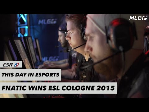 This Day in eSports - Fnatic wins ESL Cologne 2015