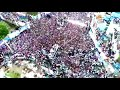 Huge Crowd  @ Jagan Padayatra in Eluru - Visuals