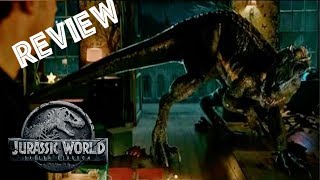 Official Film Review (Spoilers) Jurassic World: Fallen Kingdom | Indoraptor & Plot Thoughts
