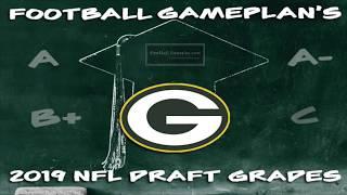 Football Gameplan's 2019 NFL Draft Grades: Green Bay Packers