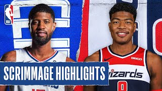 CLIPPERS at WIZARDS | SCRIMMAGE HIGHLIGHTS | July 25, 2020