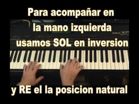Como tocar Cumbia en el piano - tropical Facil 02