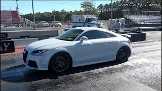 Hybrid Turbo Audi TT RS Rows Gears Into The 10s