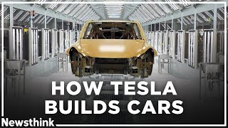 How Tesla Builds Cars So Quickly