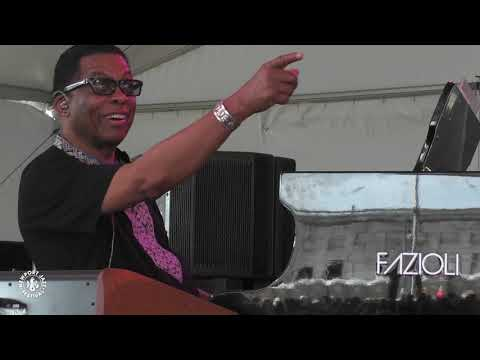 Herbie Hancock, Christian McBride & Vinnie Colaiuta Perform at Newport Jazz Festival 2019