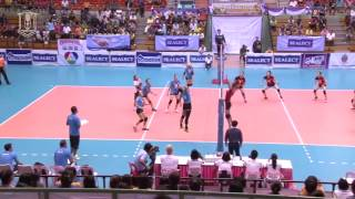 BGTV : POINT TO POINT : SEALECT TUNA (ประชาชน ก หญิง) : BGVC VS VIETINBANK VC (HIGHLIGHT)