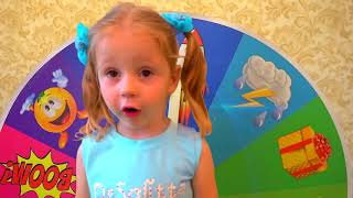 Kids Playing At Magic Wheel -  Funny for Kids  - Educational Video for Kids Children
