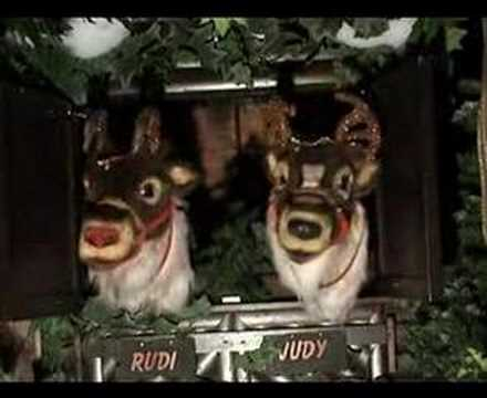 Animatronics Christmas Reindeer Decoration from KD Decoratives