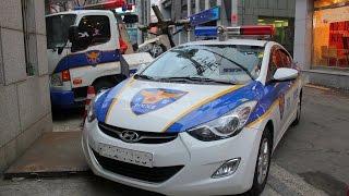 Đứng tim với pha rượt đuổi tội phạm của cảnh sát Hàn quốc