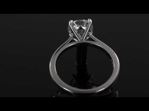 Browns Family Jewellers Solitaire Diamond Engagement Ring