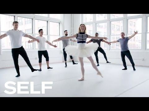 CrossFit Athletes Try to Keep Up with a Professional Ballerina   SELF