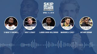 UNDISPUTED Audio Podcast (04.11.19) with Skip Bayless, Shannon Sharpe & Jenny Taft | UNDISPUTED