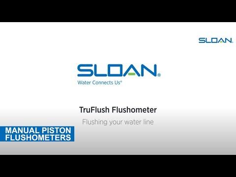 Sloan TruFlush Flush Line