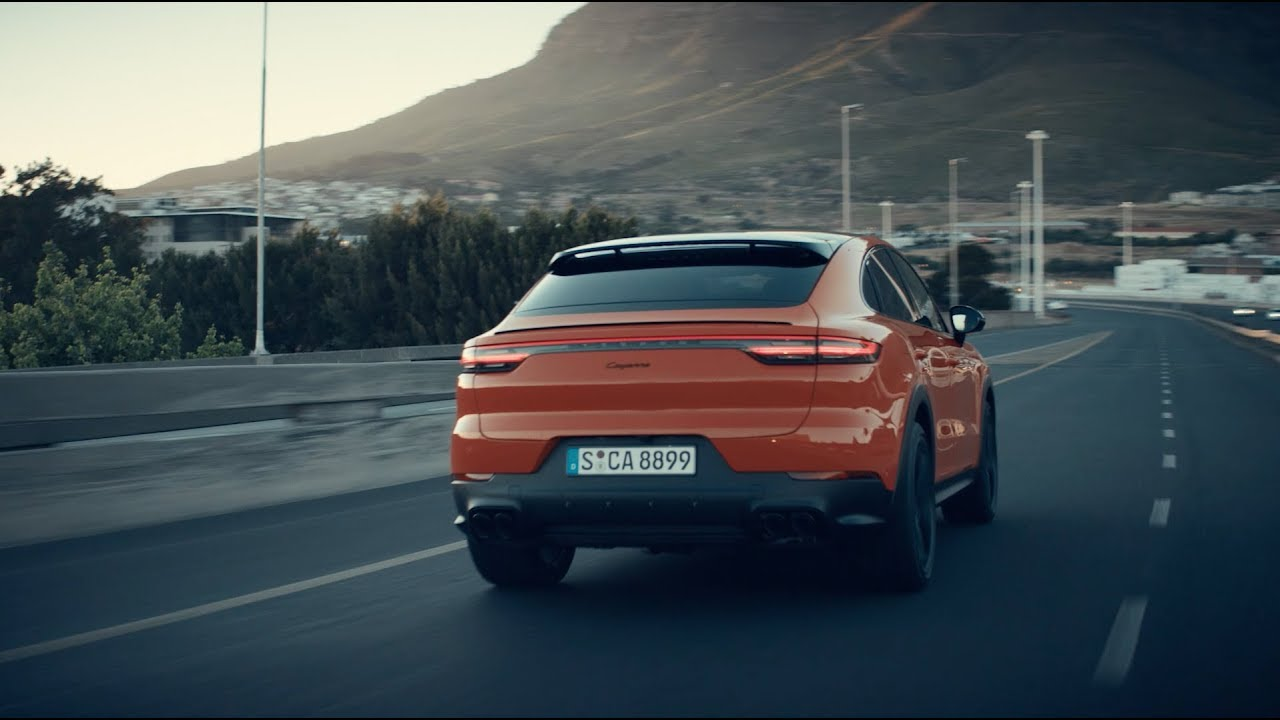 The new Porsche Cayenne Coupé - Highlight Film