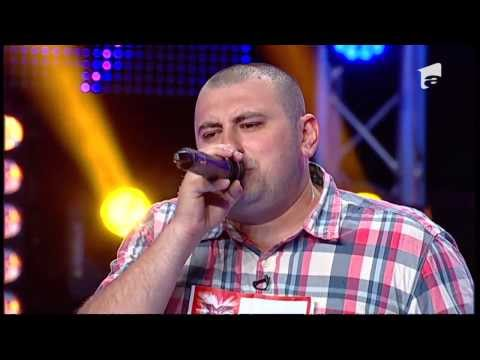X Factor Romania - Valentin Mihul - Oscar Benton -