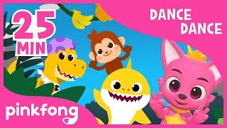 Baby Shark Dance and more | Dance Dance Pinkfong | +Compilation | Pinkfong Songs for Children