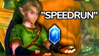 The Speedrun Where Link Stares at Rupees for 17 Hours