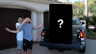 SURPRISING MY BROTHER WITH A HUGE GIFT!!   FaZe Rug