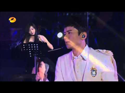 20131130-張杰-這就是愛廣州演唱會-《他不懂》-07 -電視版