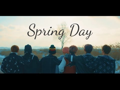 BTS - Spring day. Letra fácil (pronunciación)