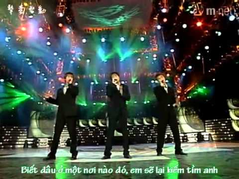 [Vietsub] Group S (Kangta, HyeSung, JiHoon) - Tears of the moon (perf)