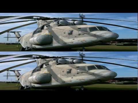 Технический музей Автоваза в 3D. Вертолеты.