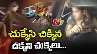 Women techies caught in drunken driving checks in Hyd..