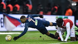 Mbappe Scores a Goal With His Hand | PSG vs Stade Reims