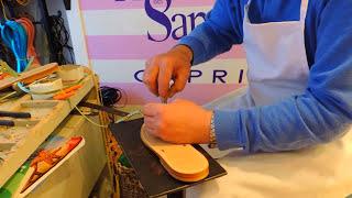 The Making Of My Custom Made Italian Sandals (Capri, Italy) ∾ CH