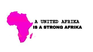 7 REASONS WE MUST UNITE AFRIKA NOW!