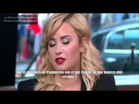 Demi Lovato habla de la muerte de su papá, subtitulado en español (GMA, 2013)