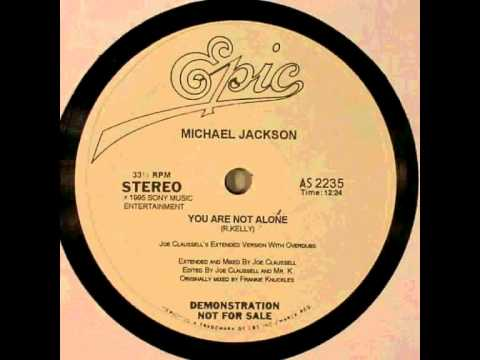 Baixar Michael Jackson - You Are Not Alone (Joe Claussell's Extended Version With Overdubs)