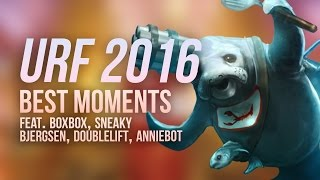 URF 2016 Best Moments w/ Boxbox, Sneaky, Bjergsen, Doublelift, Anniebot