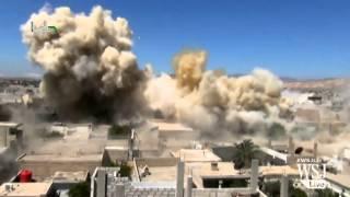 BarrelBombingCampaignIntensifiesinAleppo,Syria