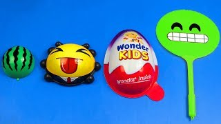 Best of Surprise Eggs Learn Sizes from Smallest to Biggest! Learn Colors Smile Emoji Toy For Kids