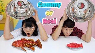 Thử Thách Gummy Or Real Phiên Bản Thơ Xui Xẻo