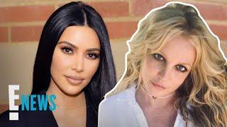 Kim Kardashian Compares Britney Spears' Struggle to Her Own   E! News