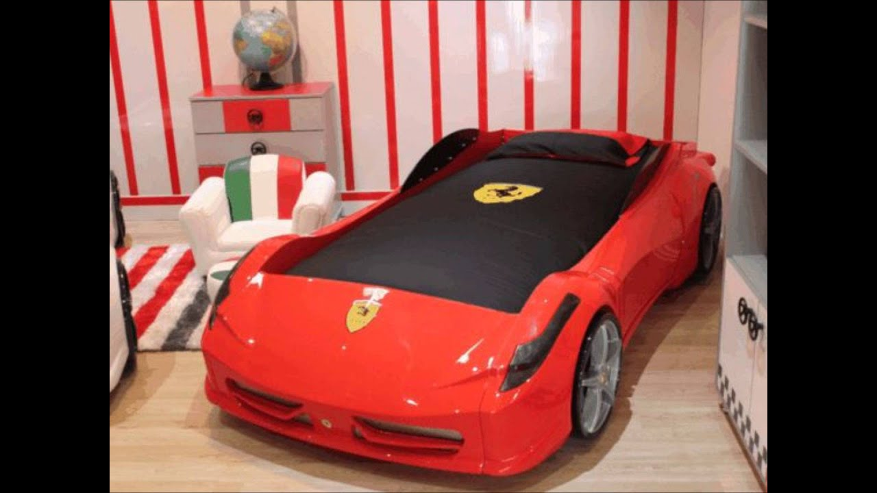 Aero Ferrari Look Car Bed Youtube