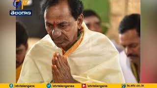 KCR Holds Massive Homam At Erravalli-Visuals..