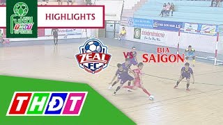 Highlights Futsal Truyền hình Đồng Tháp 2018 | Zeal Khánh Hòa FC vs Bia Sài Gòn sông Tiền | THDT - YouTube