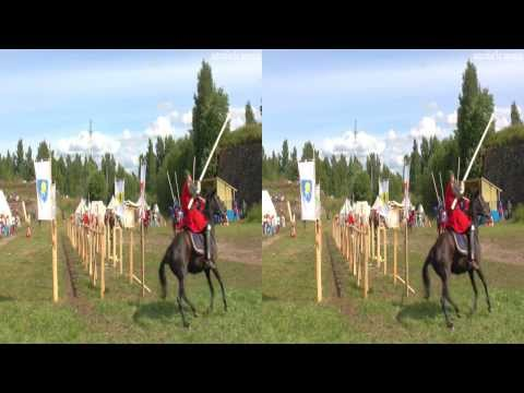 (3D) Knight tournament, Competition (Vyborg) Выборгский гром 2013