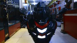 Đèn trợ sáng cùng 4 món đồ chơi chất ngất cho Suzuki GSX150 | Phú Tài Decal
