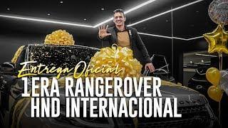 Primera Range Rover Evoque HND Internacional | Entrega Oficial