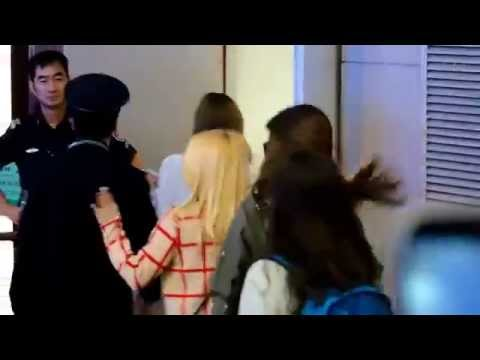 [fancam] 141019 SNSD Pudong Airport