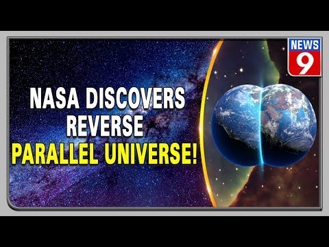NASA scientists find evidence of a parallel universe running back in time