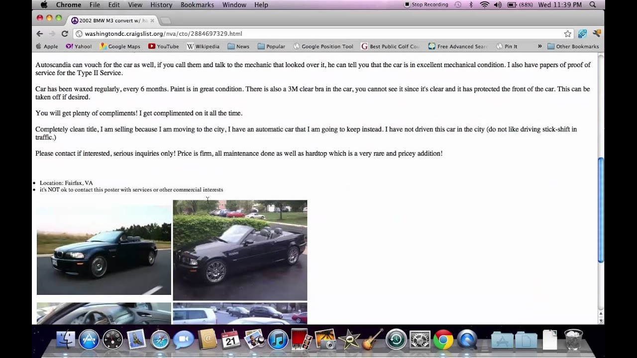 Craigslist Washington Dc Cars For Sale By Owner Upcoming