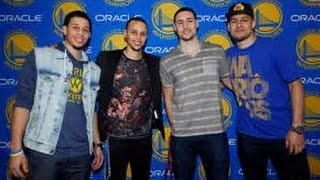 The Curry Brother's vs The Thompson Brother's Highlights!