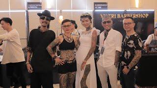 Thanh niên xăm trổ trên khắp Việt Nam đang tụ họp tại Lễ Hội Xăm Sài Gòn - Saigon Tattoo Expo 2018