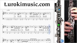 หัดเล่นโอโบ Silentó - Watch Me (Whip/Nae Nae) ตัวโน๊ต สอนเล่นโอโบ um-b796