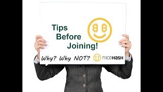 NiceHash Review Latest Pros and Cons - Tips Before Joining!
